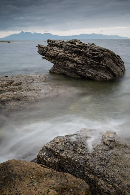 Isle of Rùm from Elgol - landscape photography