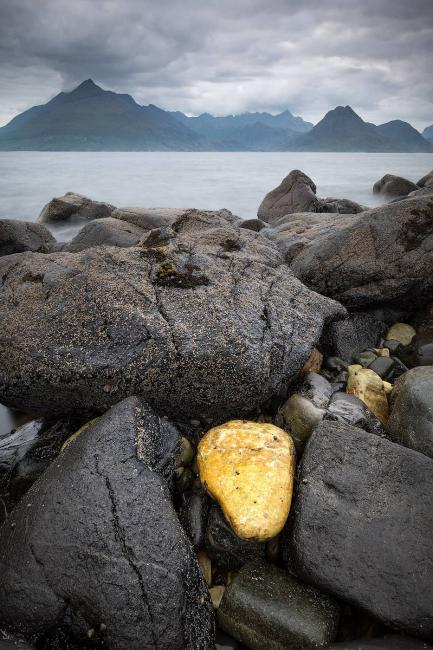 The Black Cuillins viewed from Elgol