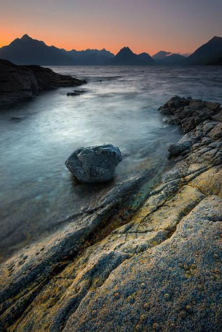 After sunset at Elgol