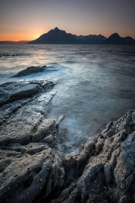 Elgol sunset, landscape photography at Elgol