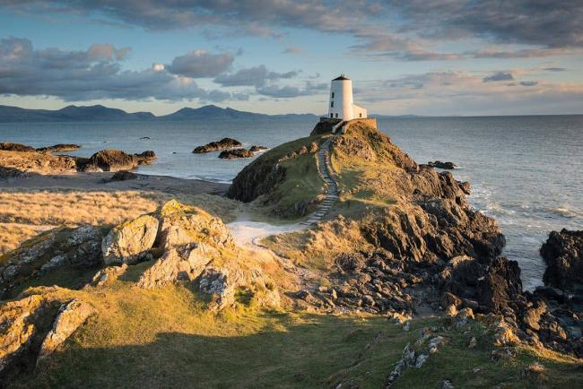 Sunset at Twr Mawr Lighthouse, Anglesey