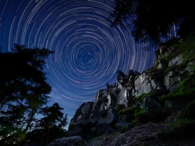 How I shoot star trail photography