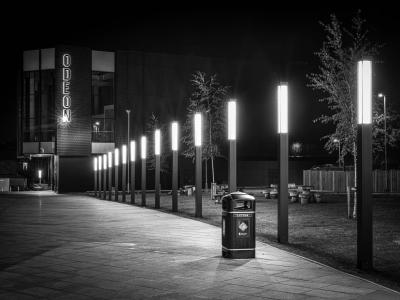 Quay Study #2 - Northwich at Night