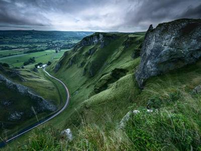 Winnats Pass photography in the Peak District
